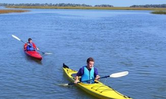 Kayaking eco tourism