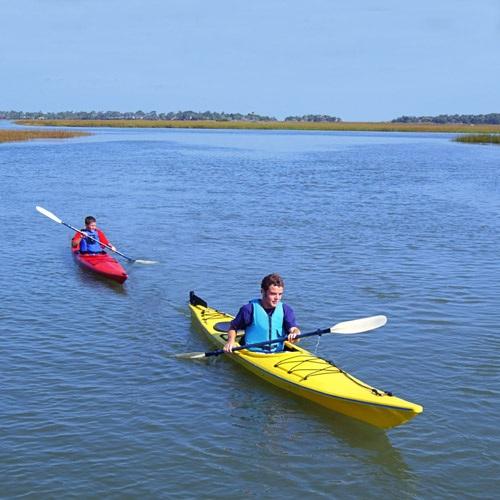 Kayaking eco tourism