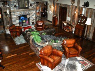 Red bluff lodge lodge interior